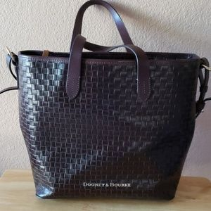 Dooney and Bourke Woven Leather Bag